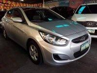 Silver Hyundai Accent 2015 for sale in Manila