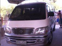 Selling White Toyota Hiace 2000 Van in Sison