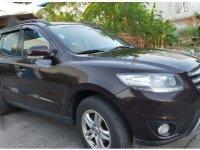 Brown Hyundai Santa Fe 2012 for sale in Imus