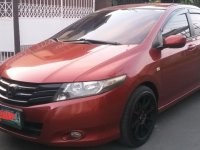 Sell Red 2009 Honda City in San Pedro