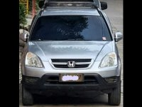 Sell Silver 2002 Honda Cr-V at 1 in Valenzuela