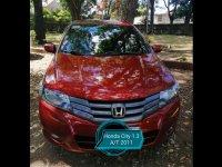 Sell Red 2010 Honda City Sedan in Padre Garcia