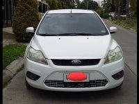 White Ford Focus 2012 Sedan for sale in Davao City