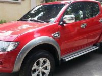 Red Mitsubishi Strada 2012 Truck for sale in Talisay City
