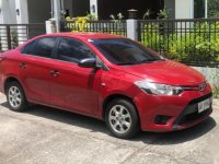 Red Toyota Vios 2014 for sale in Mabalacat