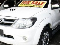 White Toyota Fortuner 2006 SUV / MPV for sale in Talisay