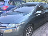 Selling Grey Honda City 2010 Sedan in Manila