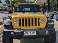 Selling Yellow Jeep Wrangler in Manila