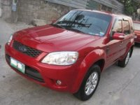 Selling Red Ford Escape 2010 SUV / MPV in Quezon City