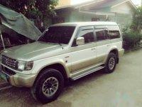 Sell Gray & White 2003 Mitsubishi Pajero SUV / MPV in Talisay