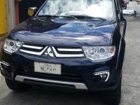 Blue Mitsubishi Montero 2015 for sale in Marikina City