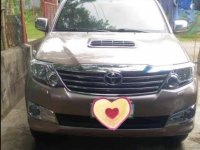 Beige Toyota Fortuner 2015 for sale in Batangas