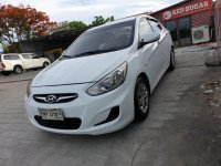 White Hyundai Accent 2016 for sale in Quezon