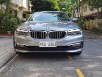 Grey Bmw 5-Series 2018 for sale in Manila