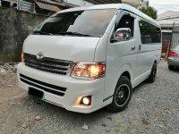 White Toyota Grandia 2013 for sale in Quezon City