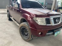 Red Nissan Navara 2011 for sale in Davao