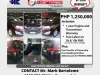 Toyota Innova 2020 for sale in Quezon City