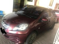 Selling Red Honda Brio amaze 2015 in Bay
