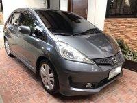 Grey Honda Jazz 2012 for sale in Lipa City