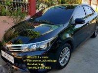 Black Toyota Altis 2017 for sale in Davao