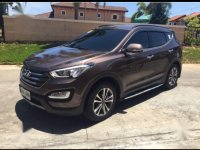 Brown Hyundai Santa Fe 2015 for sale in Bacoor
