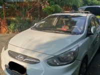 White Hyundai Accent 2015 for sale in Caloocan City