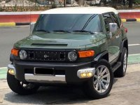 Green Toyota Fj Cruiser 2015 for sale in Quezon City