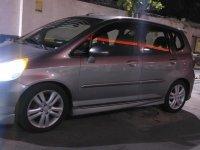 Grey Honda Jazz 2007 for sale in Quezon City