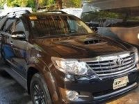 Black Toyota Fortuner 2016 for sale in Quezon City
