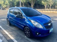 Sell Blue Chevrolet Spark in Manila