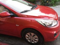 Selling Red Hyundai Accent 2015 in Bayan ng Santa Rosa