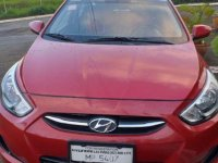 Sell Red 2016 Hyundai Accent in Makati City