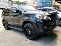 Black Toyota Fortuner 2013 for sale in Manila