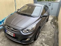 Grey Hyundai Accent 2016 for sale in Quezon City