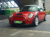 Red Mini Cooper 2002 for sale in Quezon City