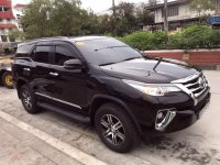 Black Toyota Fortuner 2018 for sale in Quezon City