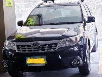Sell Black 2013 Subaru Forester in Manila