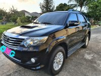 Selling Black Toyota Fortuner 2013 in Calamba