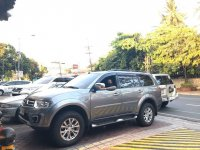 Sell Grey 2015 Mitsubishi Montero in Quezon City