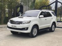 Sell White 2014 Toyota Fortuner in Norzagaray
