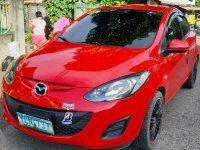 Red Mazda 2 2013 for sale in Santa Dumaguete