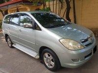 Silver Toyota Innova 2007 for sale in Davao