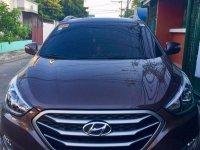 Selling Brown Hyundai Tucson 2015 in Quezon City