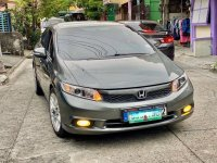 Grey Honda Civic 2012 for sale in Quezon City