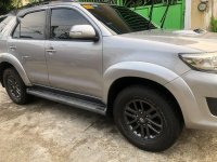 Grey Toyota Fortuner 2016 for sale in Las Pinas