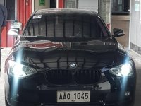Selling Black Bmw 116i 2014 in Quezon