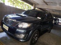 Black Toyota Fortuner 2015 for sale in Manila