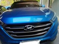 Blue Hyundai Tucson 2009 for sale in Manila