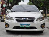White Subaru Impreza 2013 for sale in Quezon City