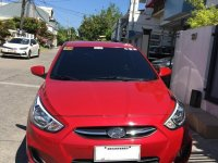 Red Hyundai Accent 2017 for sale in Manila